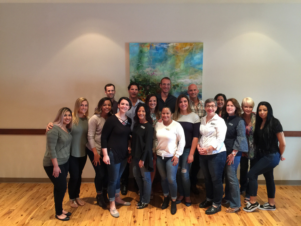Cameo Dental Specialist River Forest Office Team Photo