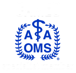 logo of association AAOMS at double resolution